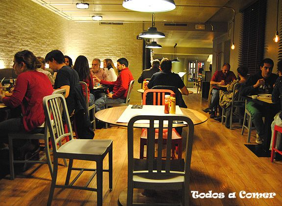 Restaurante: New York Burger, en Madrid