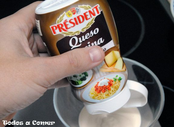 Queso cocina Prsident para hacer el coulant de queso
