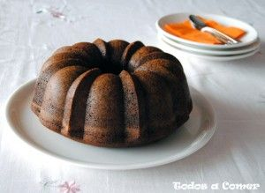 Receta. Bundt cake de chocolate