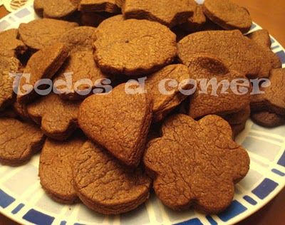 Galletasd e chocolate y naranja