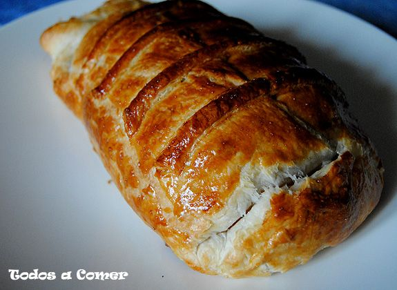 Receta de Solomillo Wellington