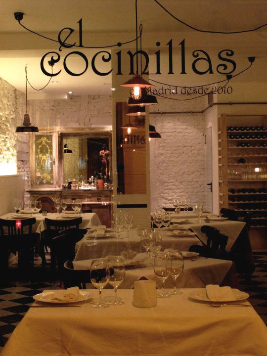 Restaurante el cocinillas en madrid for Como administrar un restaurante pequeno