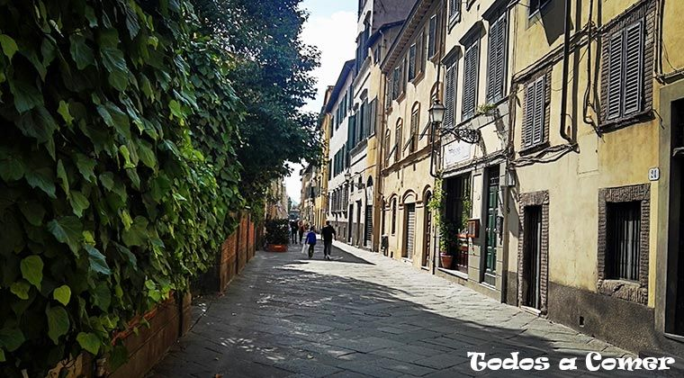 Lucca - calle medieval